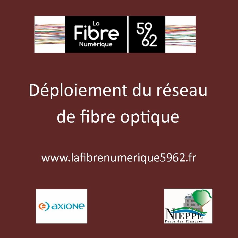 Déploiement du réseau de fibre optique